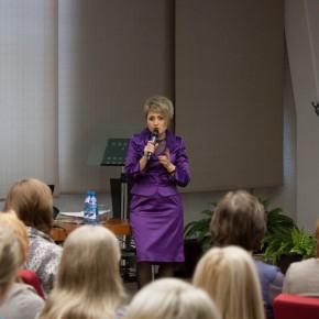 Шаркаева Ольга Анатольевна на семинаре в Томске 25/11/2015